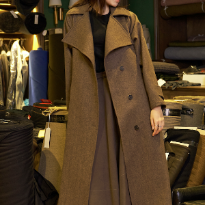 Foxbrothers Cashmere Long Coat
