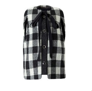 Harris tweed cape jacket[여유수량]