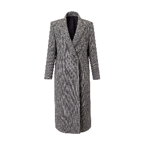 Harristweed Gray Coat