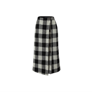 AAV X Harris Tweed Pleats Skirt