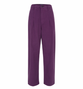 Purple Denim Pants